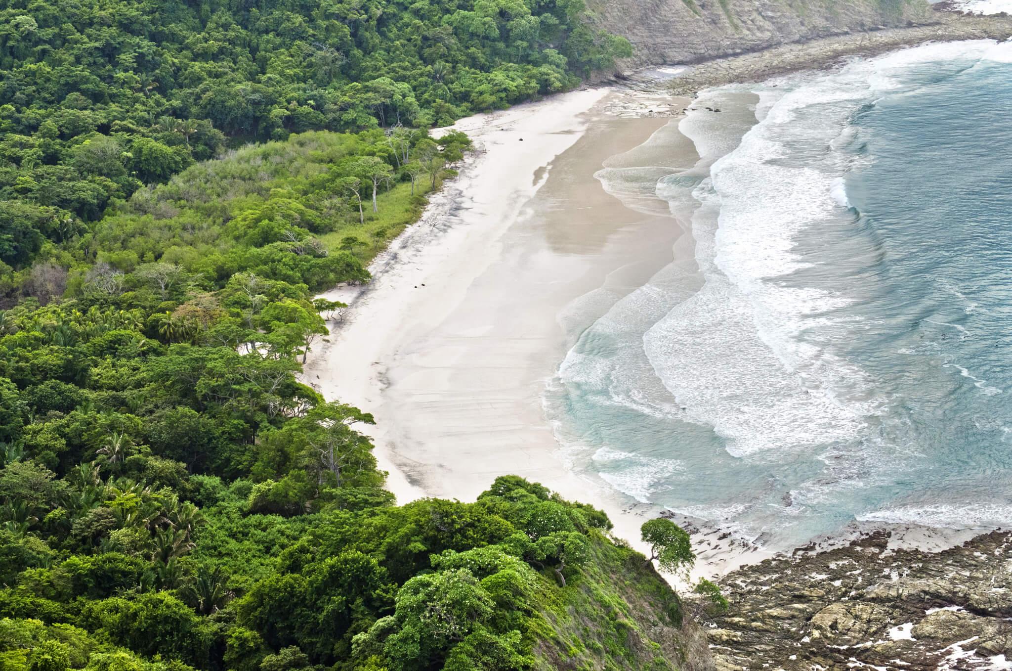 Playa Barrigona Aerial View