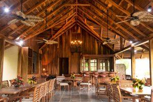 Hacienda Barrigona Dining Area