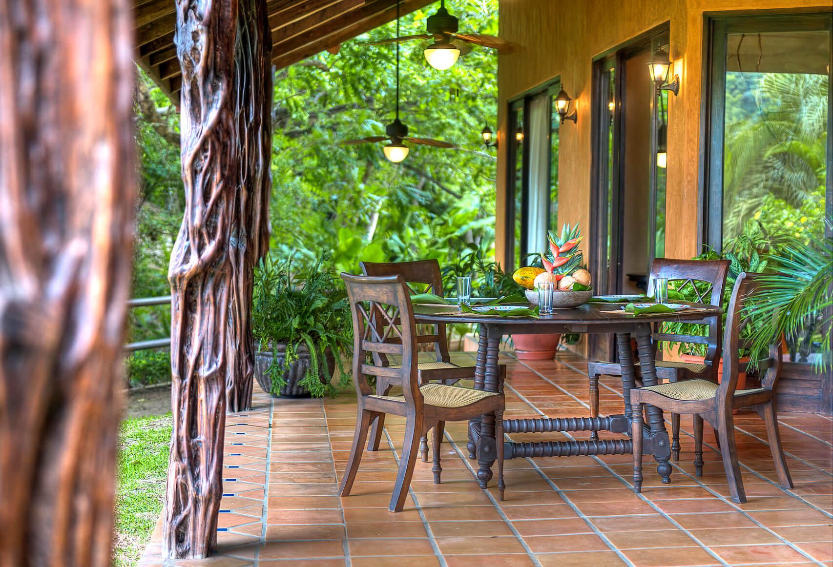 Barrigona Terrace Panorama Costa Rica Jungle