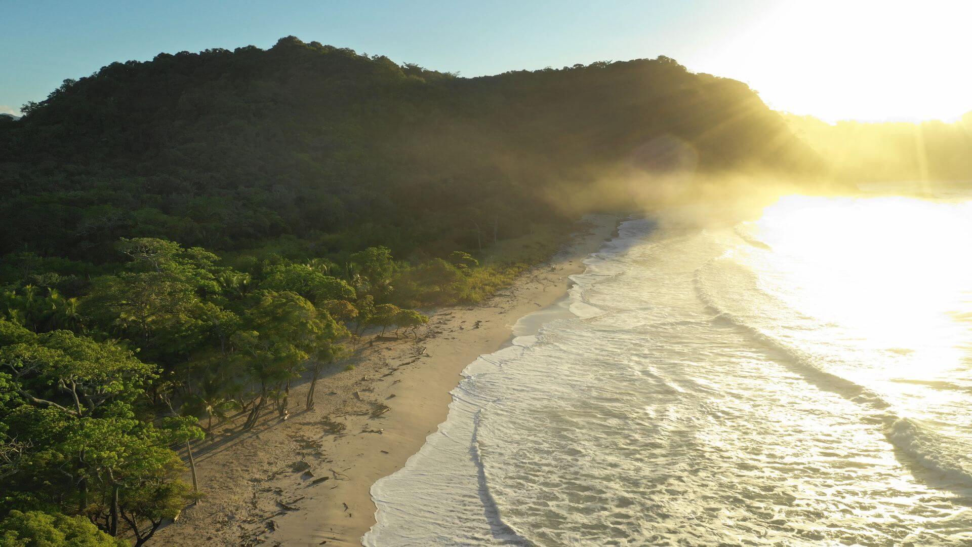 Barrigona Beach White Sand And Waves
