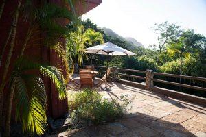 Casa Barrigona Terrace With Jungle View