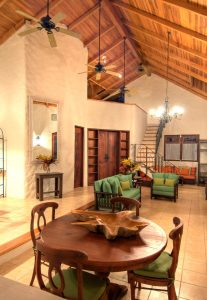 Casa Dorada Living Room Barrigona Costa Rica