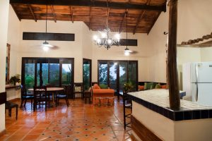 Casa Hacienda Barrigona Living Room