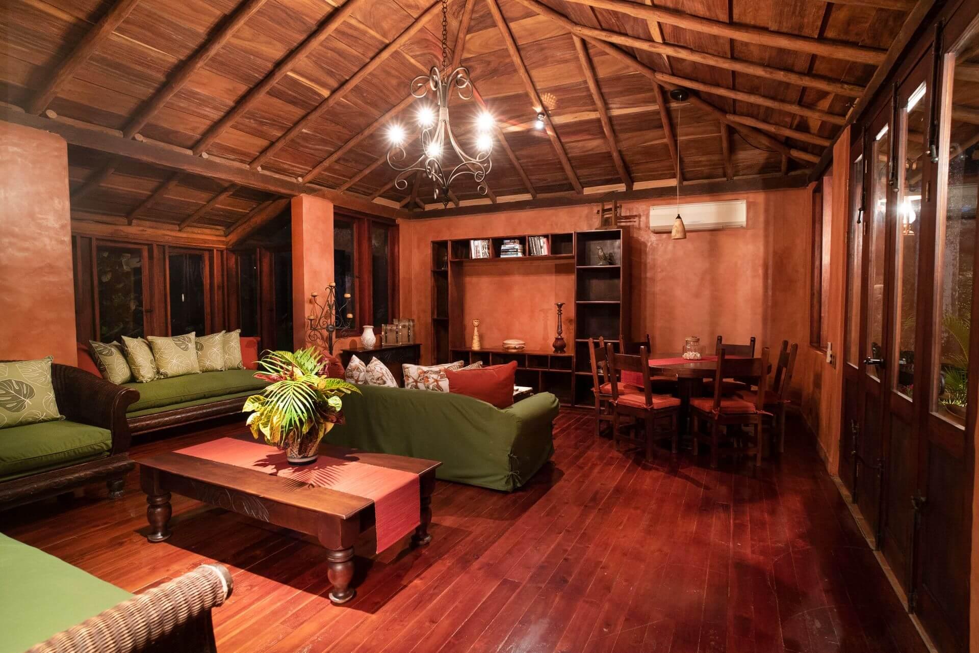 Hacienda Barrigona Casa Guanacaste Interior