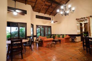 Hacienda Barrigona Living Room