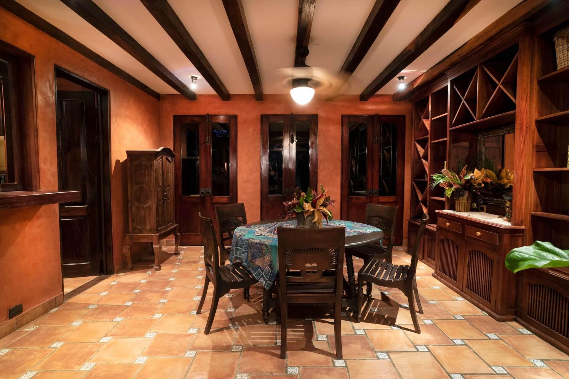 Hacienda Barrigona Villa Guanacaste Living Room